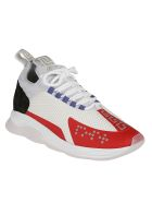 Versace Cross Chainer Sneakers - White
