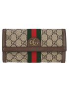 Gucci Wallets OPHIDIA GG CONTINENTAL WALLET