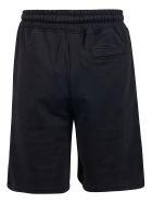 Marcelo Burlon Drawstring Waist Shorts - Black Multi