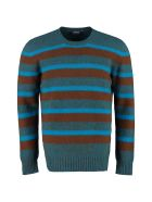 Drumohr Striped Wool Pullover - Multicolor