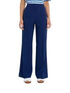 Acne Studios Portia Flared Trousers - Blu
