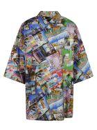 Balenciaga Photo All-over Print Shirt - Multicolor