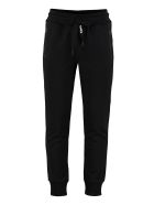 Dolce & Gabbana Cotton Track-pants - black