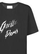 Gaelle Bonheur Logo Print T-shirt - Nero bianco