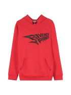 Givenchy Cotton Hoodie - red