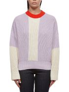 Valentine Witmeur Lab Knitted Oversized Sweater - Lilla beige