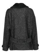 Saint Laurent Coat - Noir brillant