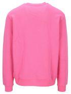 MSGM Graphic Print Sweatshirt - Bubblegum