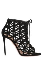 Aquazzura 'graphiste' Shoes - Black