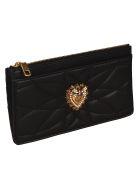 Dolce & Gabbana Devotion Long Card Case - Black