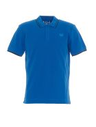 McQ Alexander McQueen Polo With Swallow Detail - Blue