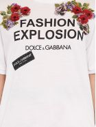 Dolce & Gabbana 'fashion Explosion'  T-shirt - White