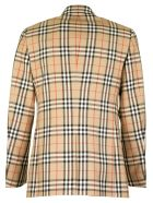 Burberry Slim Fit Vintage Check Wool Mohair Tailored Jacket - Archive Beige