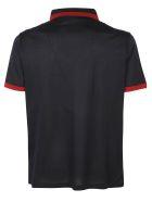 Salvatore Ferragamo Polo Shirt - Navy/brick