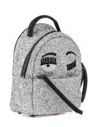 Chiara Ferragni Flirting Mini Backpack - SILVER