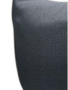 Borbonese Medium Luna Shoulder Bag - Nero