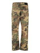 R13 Camouflage Print Boyfriend Jeans - Multicolor