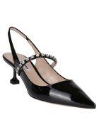 Miu Miu Black Patent-leather Pumps - Nero