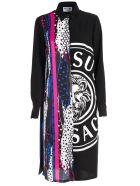 Versus Versace Chemisier Print Dress - Multicolor