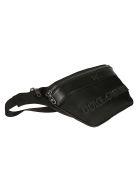 Dolce & Gabbana Logo Embossed Belt Bag - Black