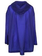 Plantation Hooded Raincoat - Bluette