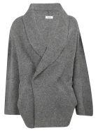 Zucca Wrap Style Cardigan - Grey