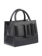 BOYY Bobby 23 Handbag In Smooth Leather - Black