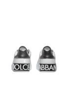 Dolce & Gabbana Portofino Sneakers - Bianco argento