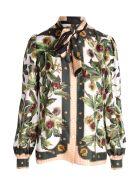Dolce & Gabbana Silk Shirt - Chestnut White