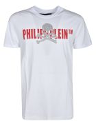 Philipp Plein Short Sleeve T-Shirt - White/red