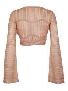 M Missoni Sparkly Knit Bolero Cardigan - Cipria