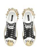 Dolce & Gabbana Portofino Melt Sneakers - VARIANTE ABBINATA (White)