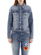 Iceberg Denim Jacket With Embroidered Logo - INDACO (Blue)
