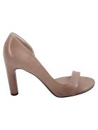 Roberto del Carlo Del Carlo Leather Heeled Shoes - SAND