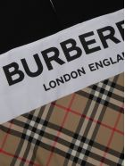 Burberry Quentin Polo Shirt - Black