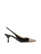 Prada High-heeled shoe - Nero beige
