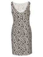 Aspesi Printed Dress - White/Black
