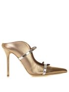 Malone Souliers Maureen Bronze Lamninated Leather Pumps - Bronze