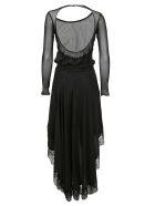 Faith Connexion Mesh Paneled Dress - Black