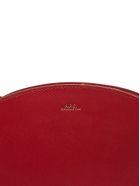A.P.C. Apc Crescent Shoulder Bag - Rosso