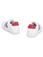 Moncler Ariel Leather Low-top Sneakers - Bianco
