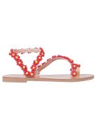 Elina Linardaki Buttercup Sandals - Red