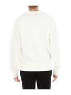 Maison Kitsuné Hologram Logo Sweatshirt - White
