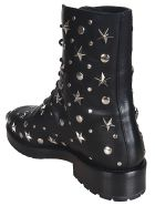 RED Valentino Embellished Combat Boots - No Black