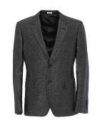 Alexander McQueen Jacket - Silver/ black