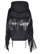 Khrisjoy Fringed Jacket - Black
