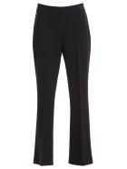 Be Blumarine Pants Flared Cady W/side Zip - Nero