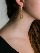 Bianca Baykam Crystal Detail Earrings - Giallo