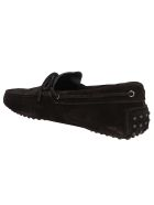 Tod's Black Suede Loafers - Black