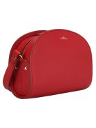 A.P.C. Demi Lune Bag - DARK RED